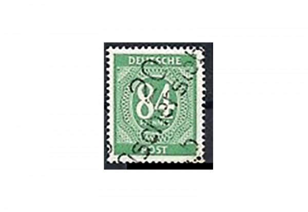 SBZ Bezirkshandstempel - Ziffernausgaben 1948 Michel Nr. I x gestempelt geprüft