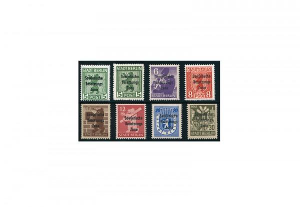 SBZ Mi.Nr. 200/206 A+B postfrisch