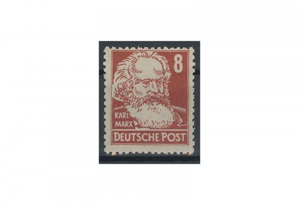 Briefmarke SBZ 1948 Karl Marx Michel-Nr 214 b postfrisch geprüft