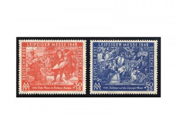 SBZ Michel-Nr. 230/231 gestempelt