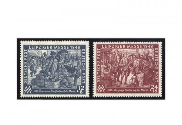 SBZ Michel-Nr. 240/241 gestempelt