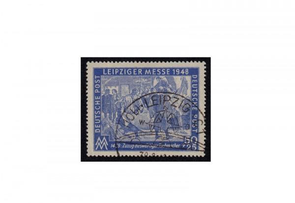 Briefmarke SBZ Leipzíger Herbstmesse 1948 Michel-Nr. 199 b gestempelt