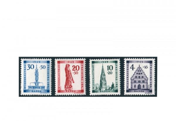 Briefmarken Französische Zone Baden Michel-Nr. 38/41 postfrisch