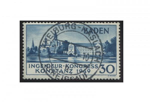 Baden Ingenieur-Kongress 1949 Michel Nr. 46 I gestempelt