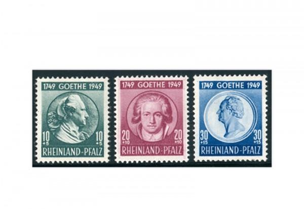 Französische Zone Rheinland-Pfalz Mi.Nr. 46/48 postfrisch