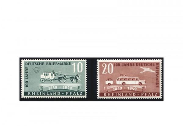 Rheinland Pfalz Mi.Nr 49/50 postfrisch