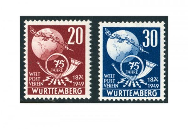 Französische Zone Rheinland Pfalz Mi.Nr. 51/52 postfrisch