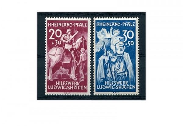 Französische Zone Rheinland Pfalz Mi.Nr. 30/31 gestempelt