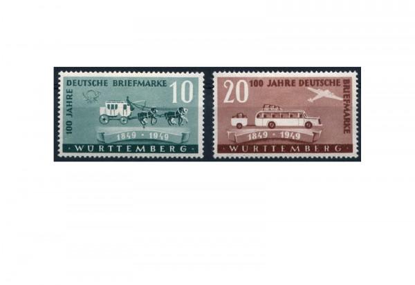 Französische Zone Rheinland-Pfalz Mi.Nr. 49/50 gestempelt