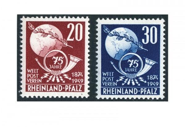 Französische Zone Rheinland Pfalz Mi.Nr. 51/52 gestempelt