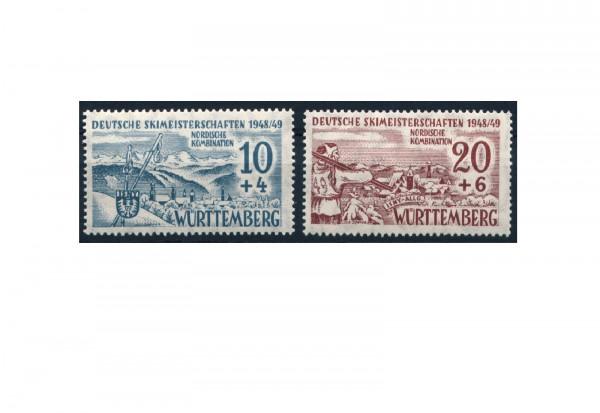 Württemberg Mi.Nr. 38/39 postfrisch