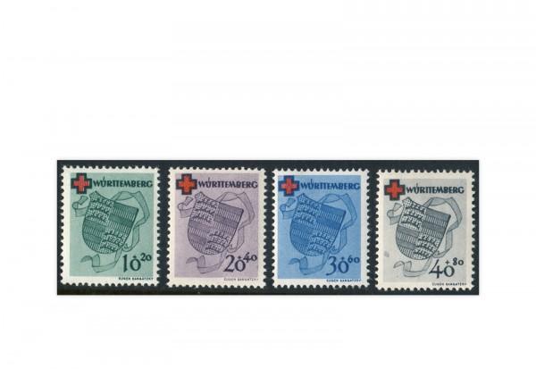 Französische Zone Württemberg Mi.Nr. 40/43A postfrisch