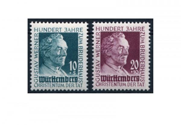Württemberg Mi.Nr. 47/48 postfrisch