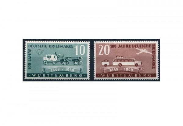 Württemberg Mi.Nr. 49/50 postfrisch