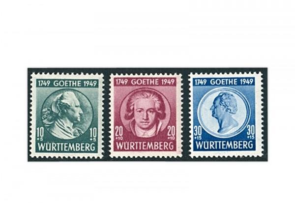 Französische Zone Württemberg Mi.Nr. 44/46 gestempelt