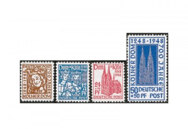 Bizone Michel-Nr. 69/72 postfrisch Kölner Dom