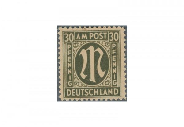 Briefmarke Bizone AM-Post 1945 Michel-Nr. 29 P III A postfrisch