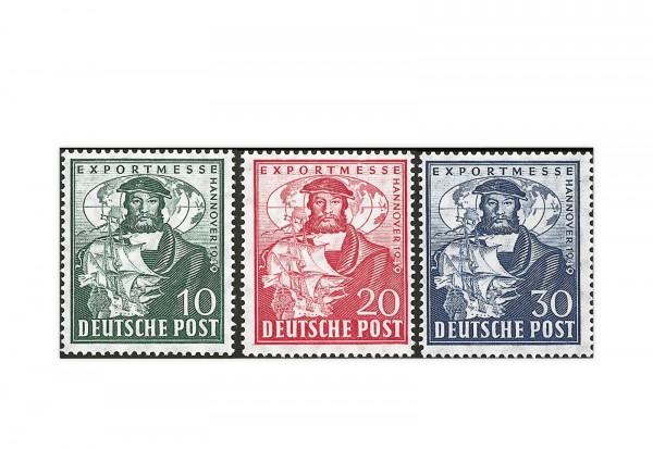 Bizone Exportmesse Hannover Michel-Nr. 103/105 a gestempelt