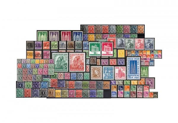 Bizone 1945 -1949 Michel Nr. 1-110 postfrisch