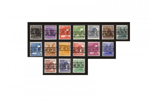 Briefmarken Bizone Bandaufdruck 16 Werte ohne 49 I Michel-Nr. 36/51 I postfrisch