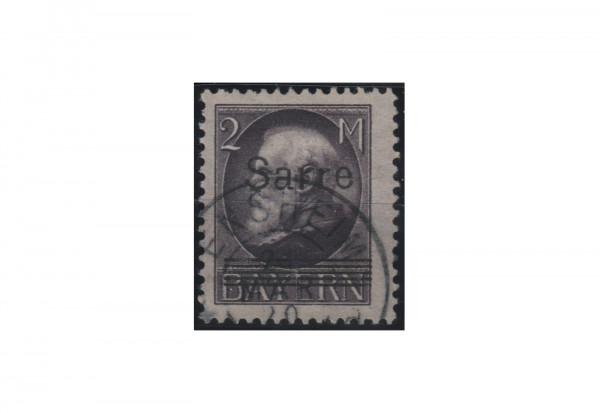 Briefmarke Deutsche Abstimmungsgebiete Saar Freimarke 1929 Michel-Nr. 28 b gestempelt geprüft