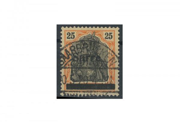 Briefmarken Deutsches Reich Germania Sarre 1920 Michel-Nr. 9 b III gestempelt geprüft