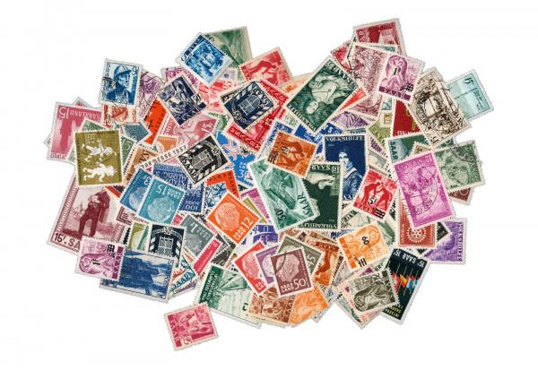 Briefmarken Saarland 1947-1959