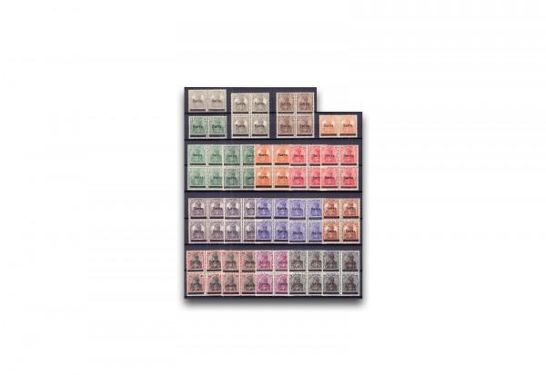Briefmarken Saarland 1920 Germania Sarre Michel-Nr. 1/17 postfrisch