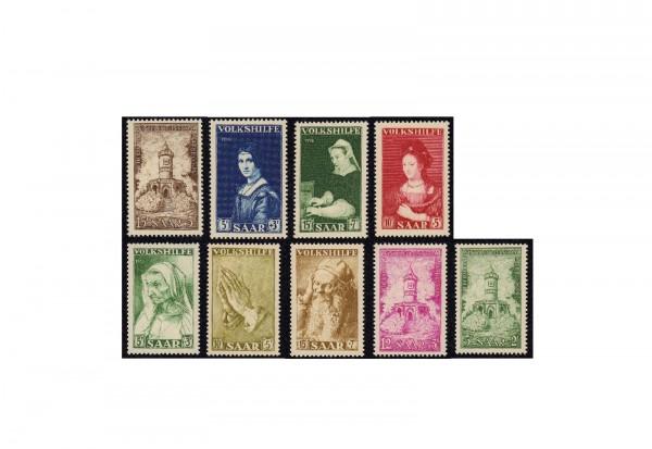 Briefmarken Saarland 1955-1956 postfrisch