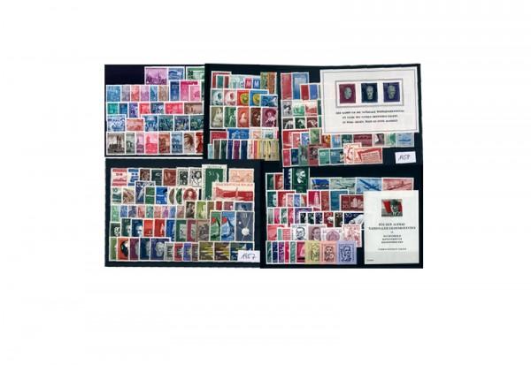 Briefmarken DDR 1955-1959 Michel-Nr. 447-745 postfrisch