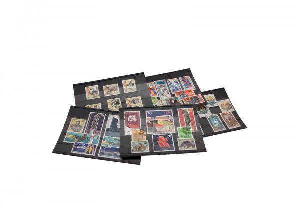 DDR 380 Marken gestempelt auf 43 Steckkarten