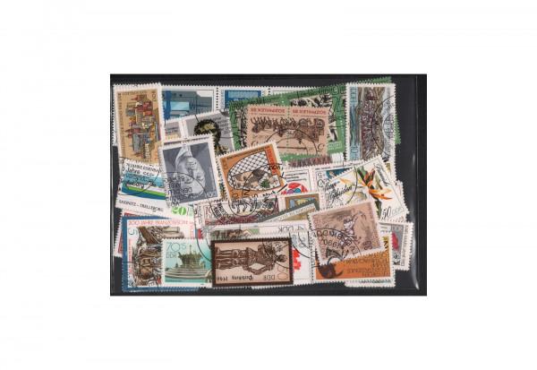 Briefmarken DDR Kollektion 379 Marken gestempelt