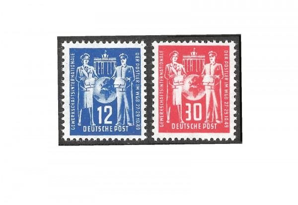 Briefmarke DDR Frühausgabe 1949 Michel-Nr. 243-244 postfrisch