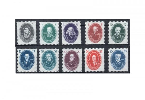 Briefmarken DDR Akademie 1950 Michel-Nr. 261-270 postfrisch