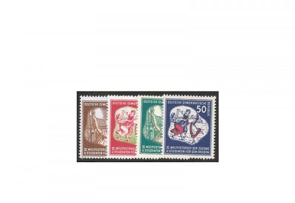 Briefmarken DDR Weltfestspiele 1951 Michel-Nr. 289-292 postfrisch