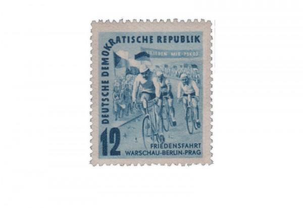 Briefmarke DDR Internationale Radfernfahrt 1952 Michel-Nr. 307 postfrisch