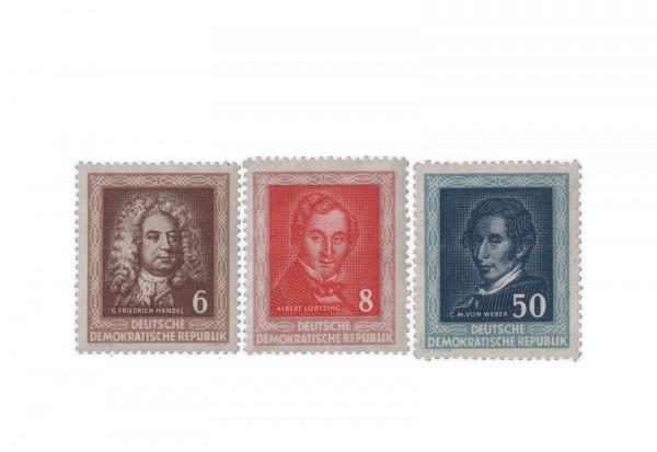 DDR Michel Nr. 308/10 ** Händelfest 1952