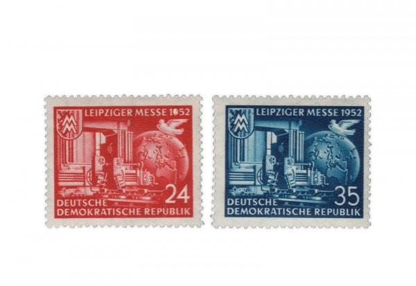 DDR Michel Nr. 315/6 ** Leipziger Herbstmesse 1952