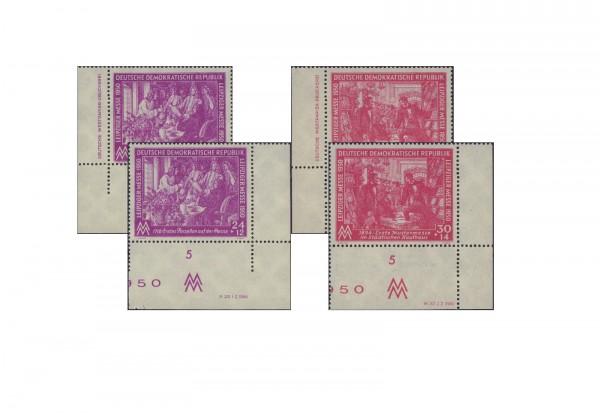 Briefmarken DDR Leipziger Frühjahrsmesse 1950 Michel-Nr. 248/49 DV+DZ postfrisch