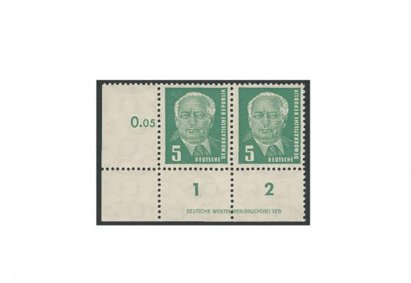Briefmarken DDR Pieck II 1952 Michel-Nr. 322 DV postfrisch