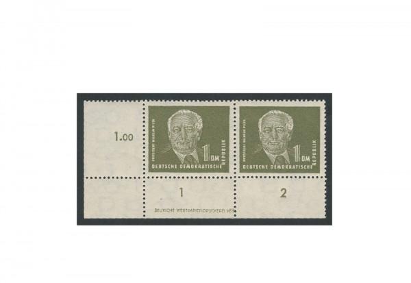 Briefmarken DDR Pieck II 1952 Michel-Nr. 325 DV postfrisch