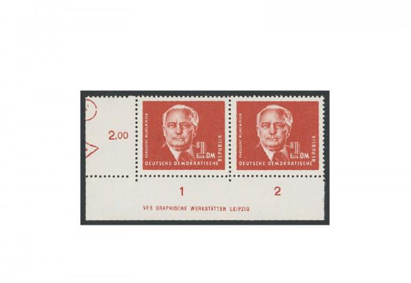 Briefmarken DDR Pieck II 1952 Michel-Nr. 326 DV postfrisch