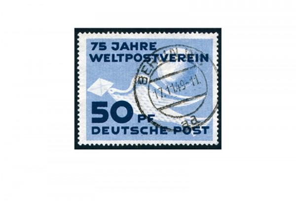Briefmarke DDR 75 Jahre Weltpostverein 1949 Michel-Nr. 242 gestempelt