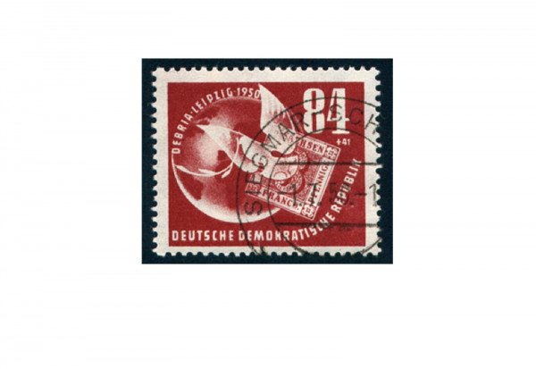Briefmarke DDR DEBRIA Leipzig 1950 Michel-Nr. 260 gestempelt