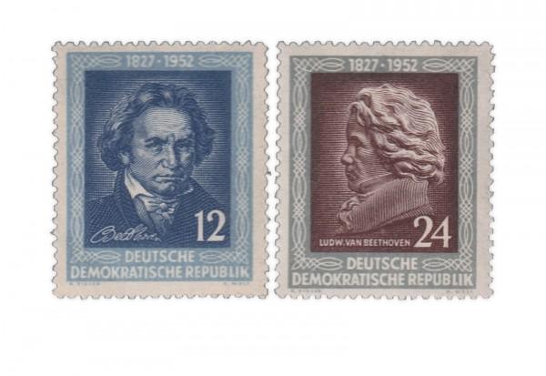 DDR Michel Nr. 300/1 gestempelt 125 Todestag von Beethoven
