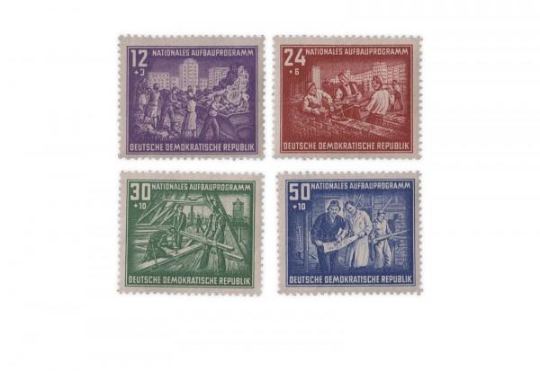 DDR Michel Nr. 303/6 gestempelt Nationales Aufbauprogramm Berlin
