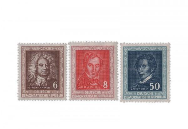 DDR Michel Nr. 308/10 gestempelt Händelfest 1952