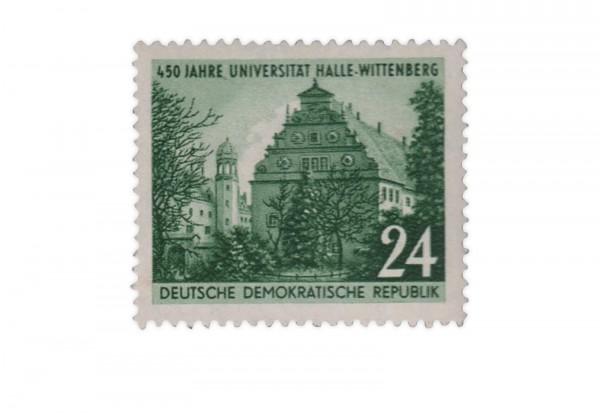 Briefmarke DDR 450 Jahre Universität Halle-Wittenberg 1952 Michel-Nr. 318 gestempelt