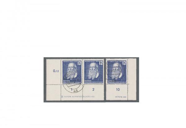 Briefmarke DDR Ludwig Jahn 1952 Michel-Nr. 317 gestempelt