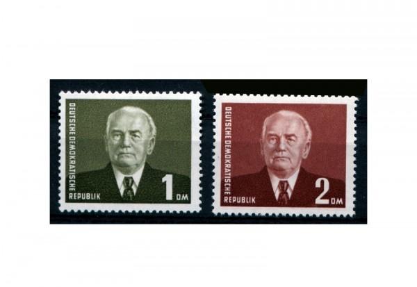 DDR Freimarken-Serie Pieck III Michel Nr. 342/3 postfrisch